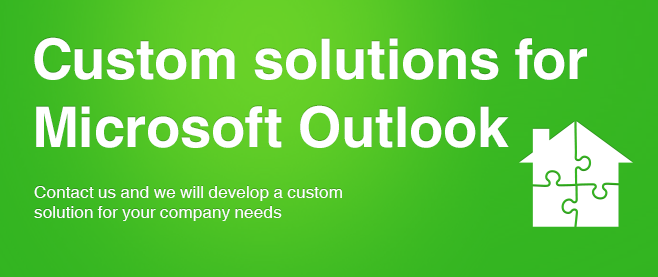 Custom solutions for Microsoft Outlook