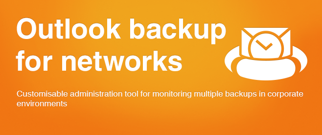 Outlook backup for networks.